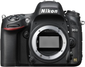 Nikon D610 schwarz Gehäuse (VBA430AE)