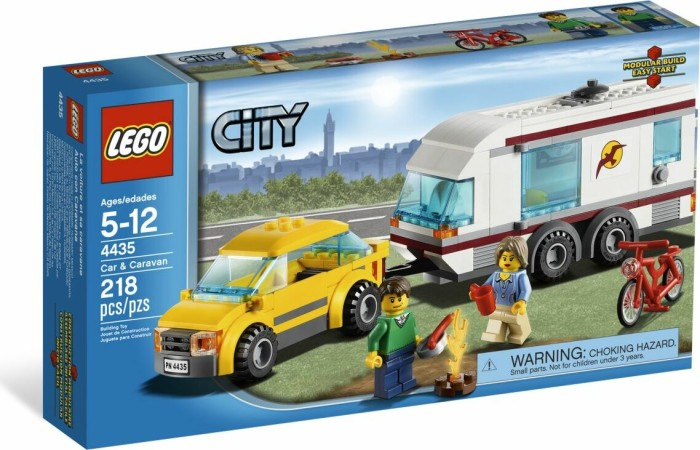 LEGO - City Great Vehicle - Car & Caravan (4435) -- via Amazon Partnerprogramm