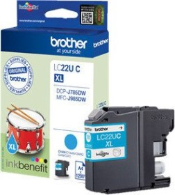 Brother ink LC22UC cyan