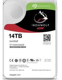 Seagate IronWolf NAS HDD 14TB, SATA 6Gb/s (ST14000VN0008)
