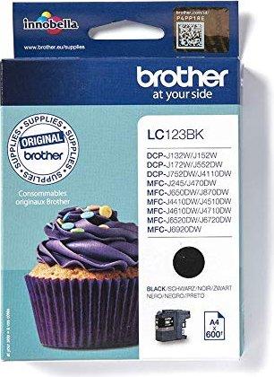 Brother Tinte LC123BK schwarz -- via Amazon Partnerprogramm