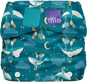 Bambino Mio Miosolo All-in-One Stoffwindel Sail Away, 4+kg, 1 Stück (SO SAIL)
