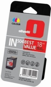 Olivetti Druckkopf mit Tinte IN504 dreifarbig hohe Kapazität (B0496)
