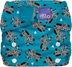 Bambino Mio Miosolo All-in-One Stoffwindel Zebra Crossing, 4+kg, 1 Stück (SO ZEB)