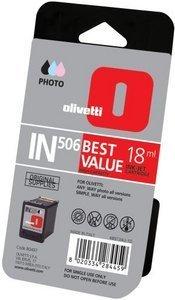 Olivetti IN506 Druckkopf mit Tinte farbig photo hohe Kapazität (B0497)