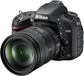 Nikon D610 schwarz mit Objektiv Fremdhersteller