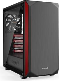 be quiet! Pure Base 500 Red, Glasfenster, schallgedämmt (BGW41)