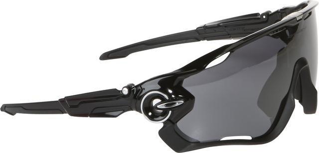Oakley Jawbreaker Polarized polished black/black iridium (OO9290-07) -- ©Globetrotter