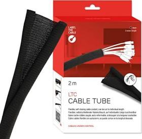 Label the cable LTC Cable Tube, Kabelschlauch schwarz, 2m (LTC 5110)