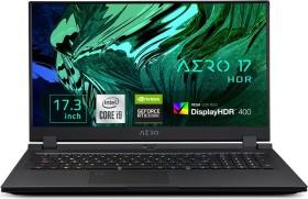 GIGABYTE AERO 17 HDR XC-8DE4450SP, Core i7-10870H, 32GB RAM, 1TB SSD