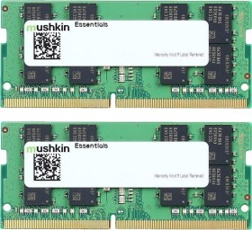 Mushkin Essentials SO-DIMM kit 32GB, DDR4-2133, CL15-15-15-35 (MES4S213FF16G28X2)