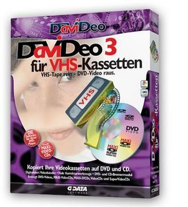 GData Software: DaViDeo 3 für VHS-Kassetten (PC)