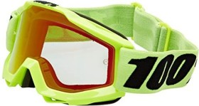100% Accuri Goggle fluo yellow/mirror red lens (50210-004-02)
