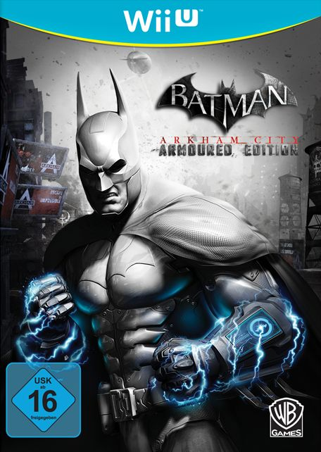 Batman Arkham City - Armored Edition (German) (WiiU)