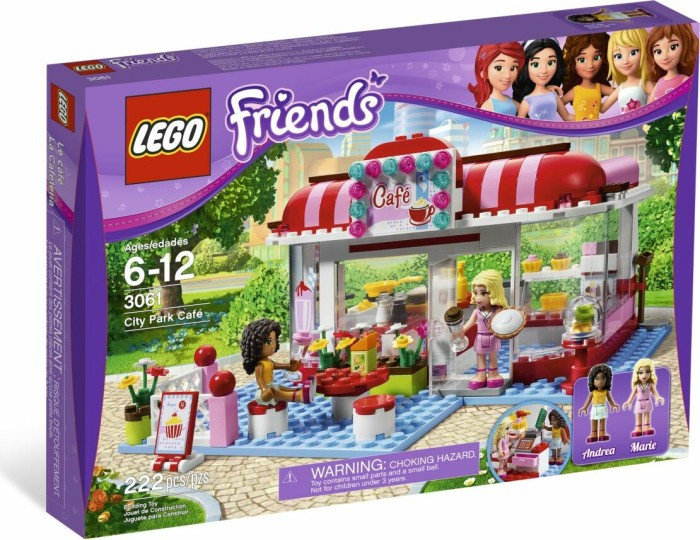 LEGO - Friends - City Park cafe (3061) -- via Amazon Partnerprogramm