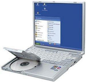 Panasonic Toughbook CF-W2, Pentium-M 733 1.10GHz (CF-W2DWAZZGG)