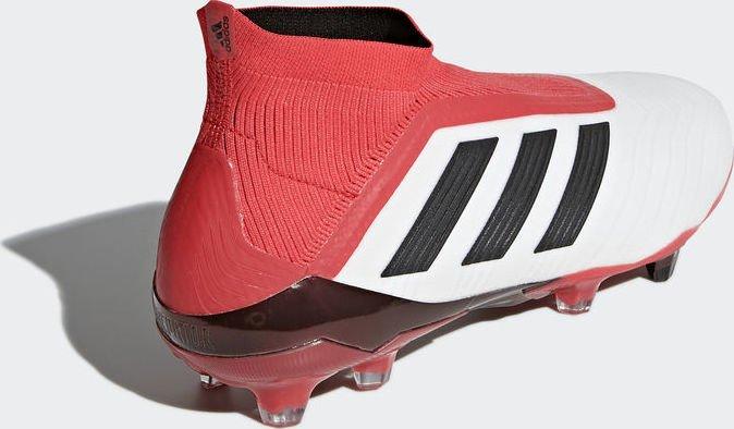 adidas Predator 18+ FG whitecore blackreal coral (Herren) (CM7391)