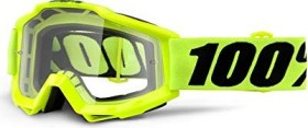 100% Accuri Goggle fluo yellow/clear lens (50200-004-02)