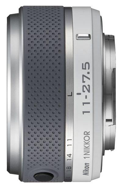 Nikon Objektiv 1 NIKKOR  11-27.5mm 3.5-5.6 weiß (JVA704DB)