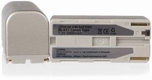 Hähnel HL-617 Li-Ion battery (1000 180.4)
