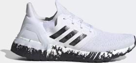 adidas Ultra Boost 20 cloud white/core black/signal coral (Damen) (EG1370)