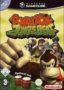 Donkey Kong Jungle Beat - nur Software (niemiecki) (GC)