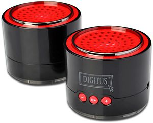 Digitus stereo Bass Bluetooth, black (DA-10292)