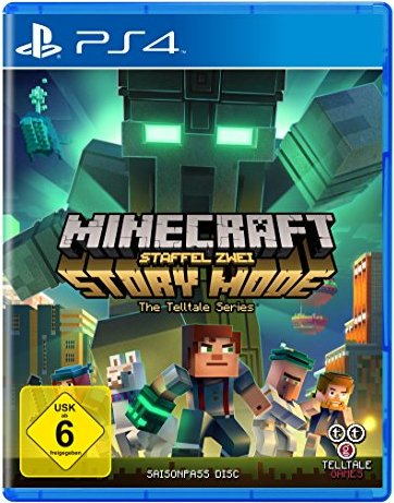 Minecraft: Story Mode - Season 2 (deutsch) (PS4) -- via Amazon Partnerprogramm
