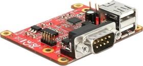 DeLOCK Pi USB 2.0/RS-232 I/O Modul (62649)