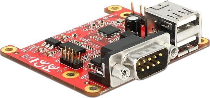 DeLOCK Pi USB 2.0/RS-232 I/O module (62649)