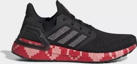 adidas Ultra Boost 20 core black/glory pink/scarlet (Damen) (EG0761)