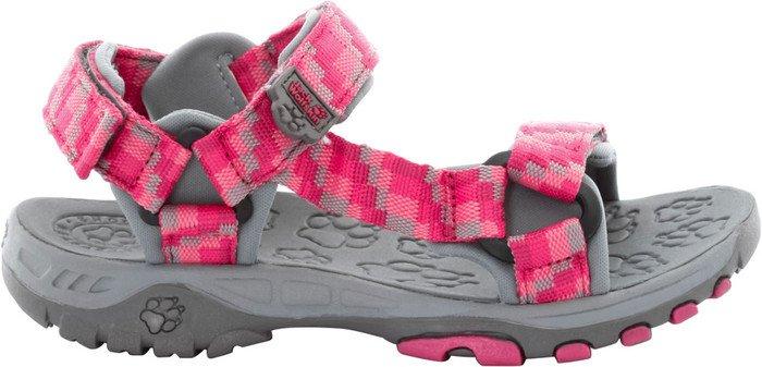 Jack Wolfskin Kids Seven Seas, Unisex-Kinder Sport- & Outdoor Sandalen, Pink (Azalea Red 2081), 27 EU (9 Kinder UK)