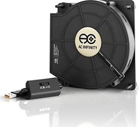 AC Infinity Multifan S2 USB mini desk fan, 120mm (AI-MPB140A)
