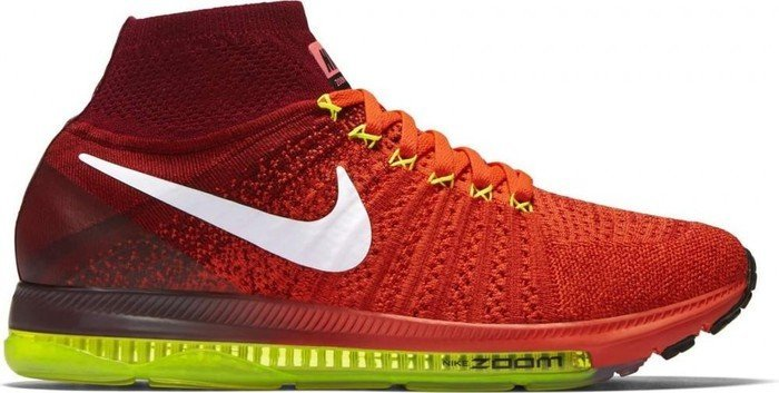 2c0a305bdec0 Nike Air zoom All Out Flyknit bright crimson team red volt white ...