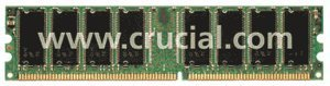 Crucial DIMM     128MB, DDR-266, CL2.5 (CT1664Z265)