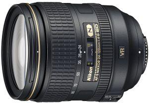 Nikon AF-S VR 24-120mm 4.0G ED black (JAA811DA)