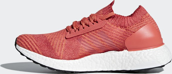5eee44f68075b adidas Ultra Boost X trace scarlet crystal white trace orange (ladies)  (BB6160)