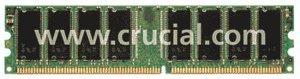 Crucial DIMM 1GB, DDR-200, CL2, reg ECC (CT12872Y202S)