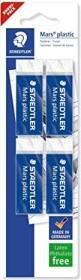 Staedtler Radierer Mars plastic 65x23x13mm, 4er-Pack (52650BK4DA)