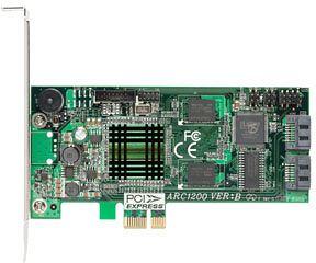 Areca ARC-1200, PCIe x1