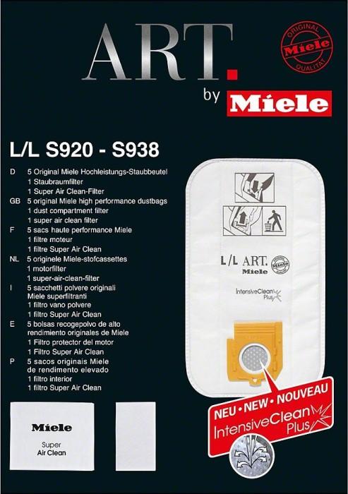 Miele Typ L/L ART Staubbeutel-Set (05852650)