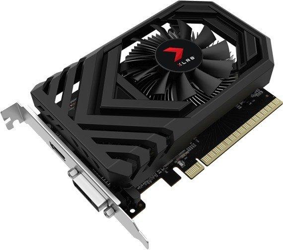 PNY GeForce GTX 1650 XLR8 Gaming OC, 4GB GDDR5, DVI, HDMI (VCG16504SFPPB-O)