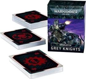 Games Workshop Warhammer 40.000 - Datakarten: Grey Knights (DE) (04050107001)
