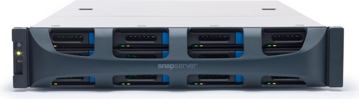 Overland SnapServer XSR 120 12TB, 2x Gb LAN, 2HE (OT-NAS200218)