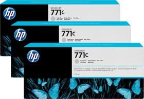 HP Tinte 771C grau hell, 3er-Pack (B6Y38A)