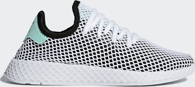 low priced 6cbe1 242a6 adidas Deerupt Runner core blackeasy greenwhite (B28076)