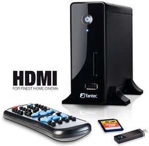 Fantec MM-CH36US media player HDMI 1500GB, USB 2.0 (14072)