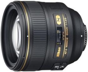 Nikon AF-S 85mm 1.4G schwarz (JAA338DA)
