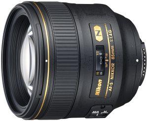 Nikon AF-S 85mm 1.4G black (JAA338DA)
