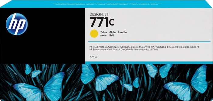 HP ink Nr 771c yellow (B6Y10A)